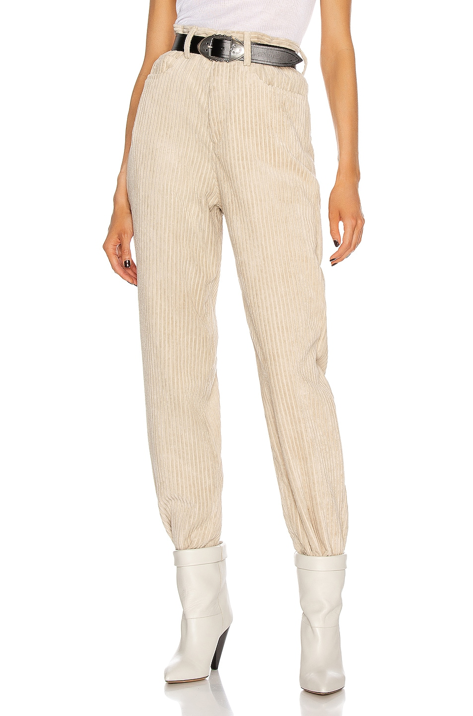 Image 1 of Isabel Marant Etoile Decorsy Pant in Beige