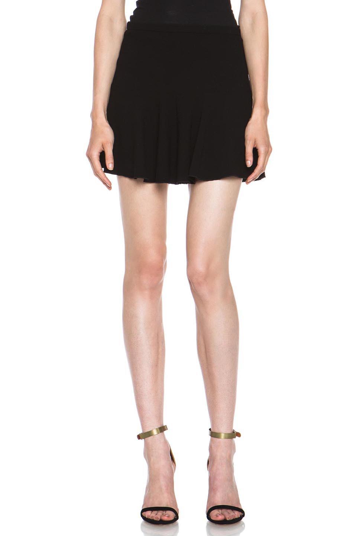 Image 1 of Isabel Marant Etoile Natalia Dressy Crepe Skirt in Black