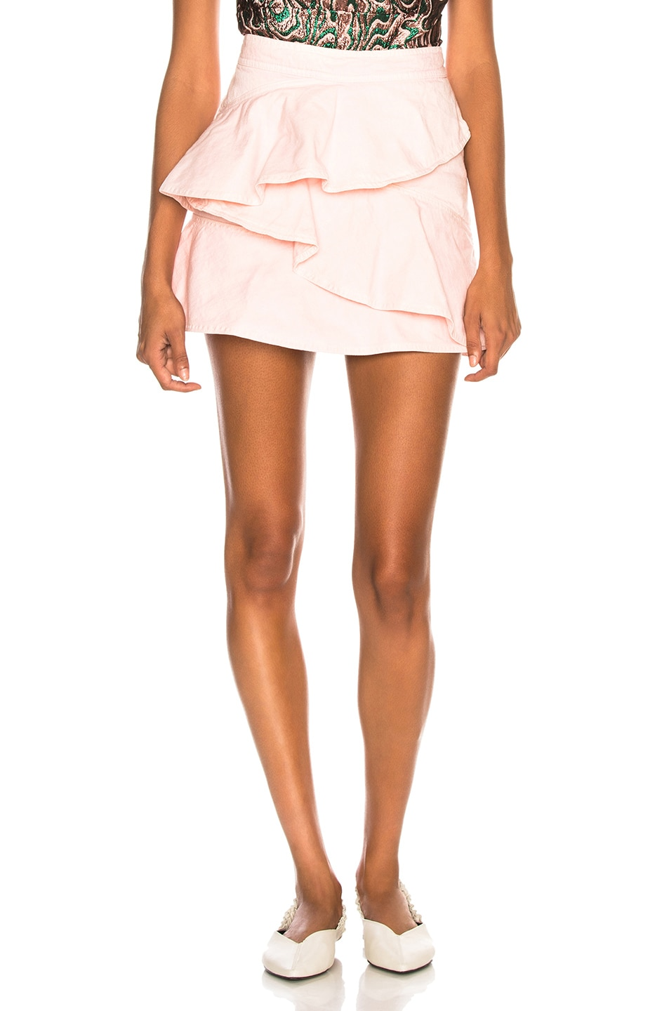 Image 1 of Isabel Marant Etoile Coati Skirt in Light Pink