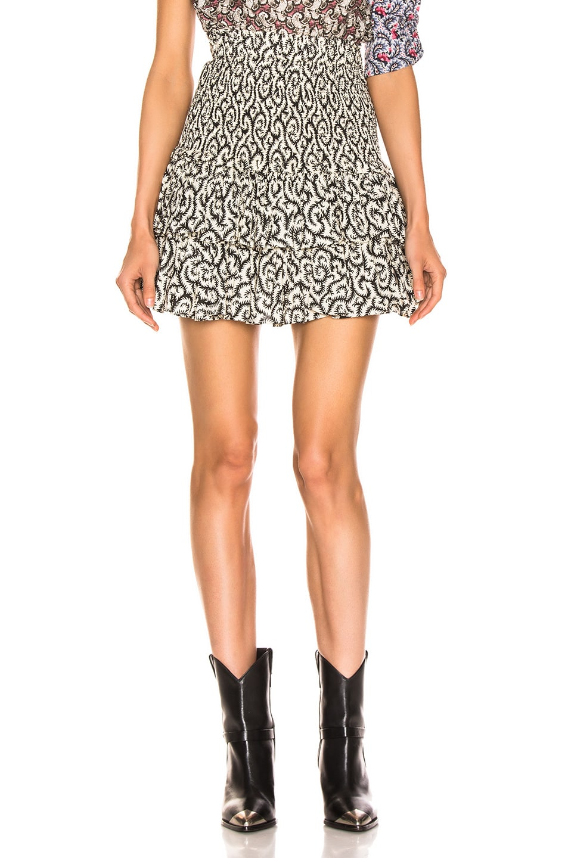 Image 1 of Isabel Marant Etoile Naomi Skirt in Black