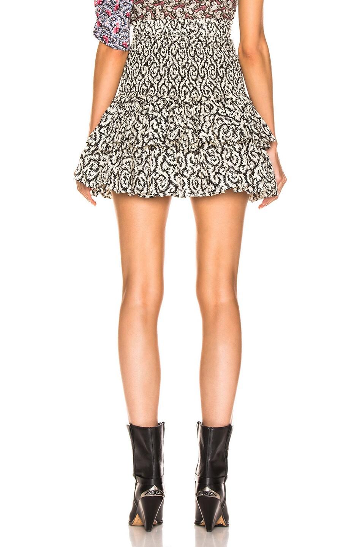 Image 3 of Isabel Marant Etoile Naomi Skirt in Black