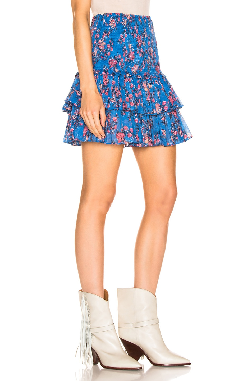 Image 2 of Isabel Marant Etoile Naomi Skirt in Blue