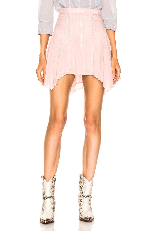 Image 1 of Isabel Marant Etoile Akala Skirt in Light Pink