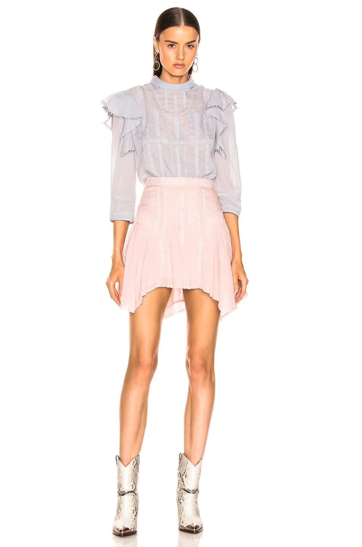 Image 4 of Isabel Marant Etoile Akala Skirt in Light Pink