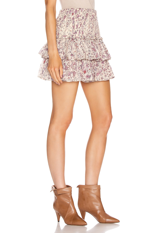 Image 2 of Isabel Marant Etoile Naomi Skirt in Ecru