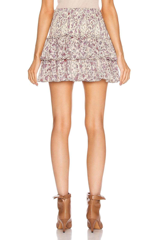 Image 3 of Isabel Marant Etoile Naomi Skirt in Ecru