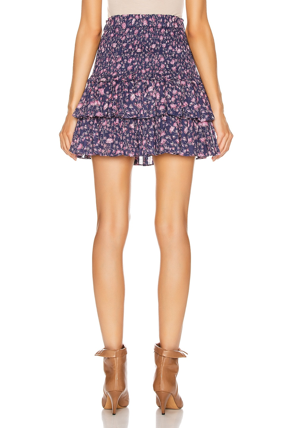 Image 3 of Isabel Marant Etoile Naomi Skirt in Midnight