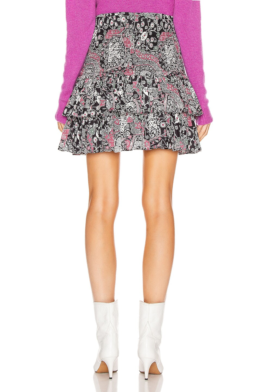 Image 3 of Isabel Marant Etoile Naomi Skirt in Dark Plum
