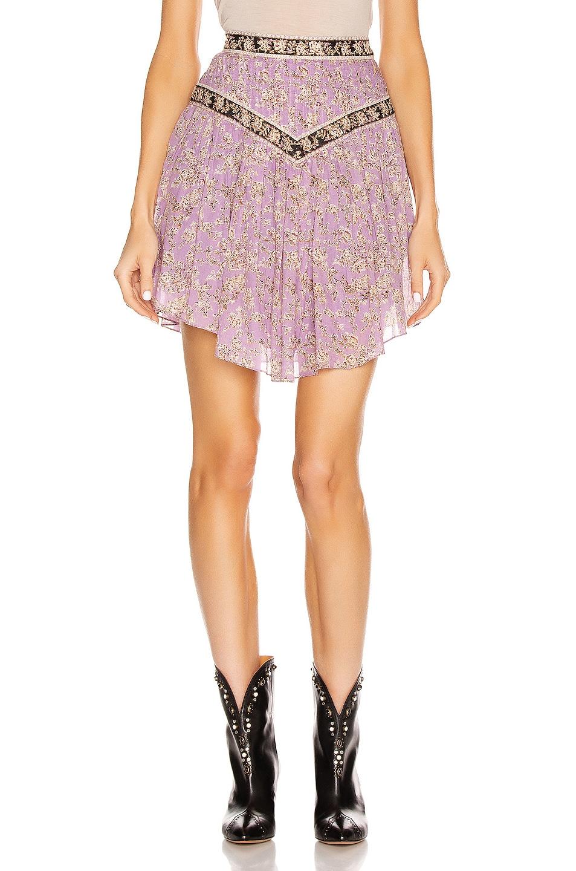 Image 1 of Isabel Marant Etoile Valerie Skirt in Lilac