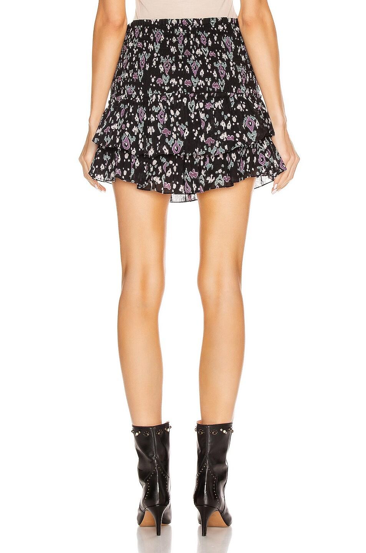Image 3 of Isabel Marant Etoile Frinley Skirt in Dark Midnight