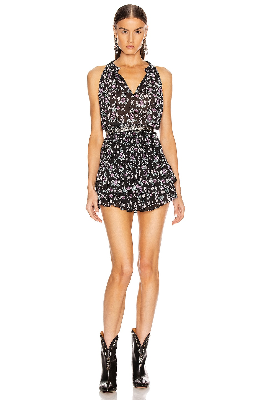 Image 4 of Isabel Marant Etoile Frinley Skirt in Dark Midnight