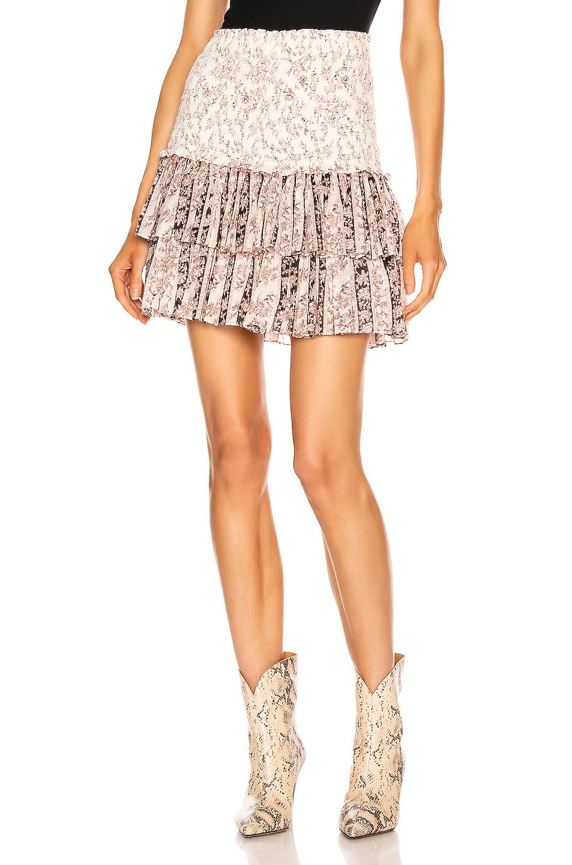 Image 1 of Isabel Marant Etoile Naomi Skirt in Ecru & Black