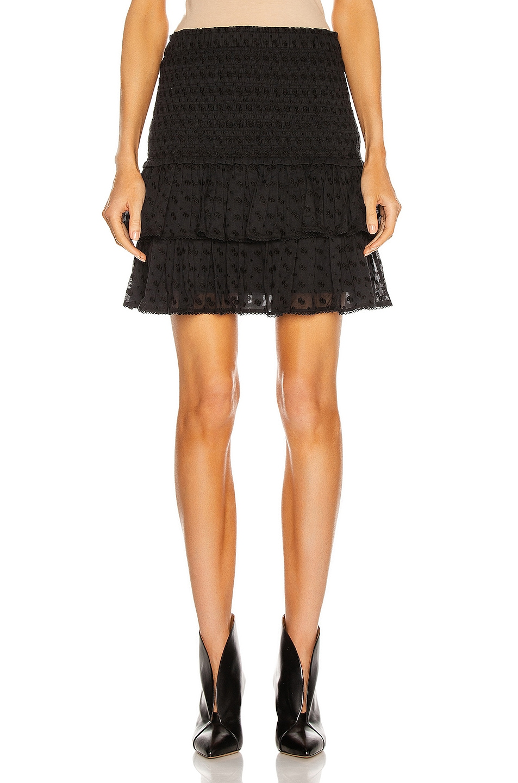 Image 1 of Isabel Marant Etoile Tinaomi Skirt in Black