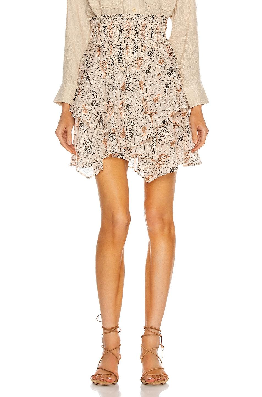 Image 1 of Isabel Marant Etoile Also Skirt in Ecru