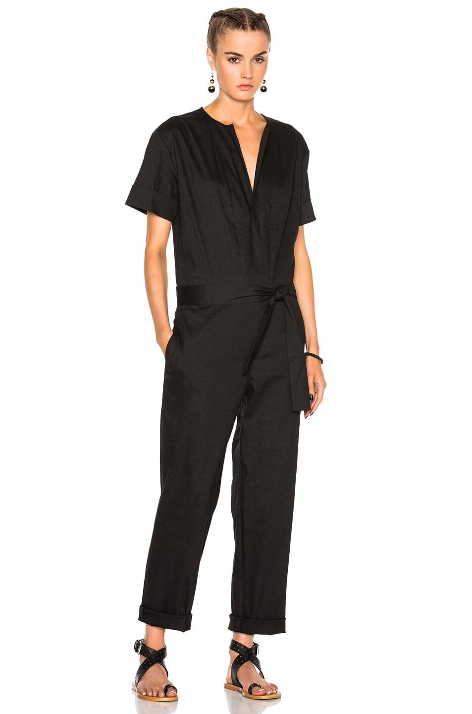 24baa103c0 Image 1 of Isabel Marant Etoile Nadela New Flou Jumpsuit in Black