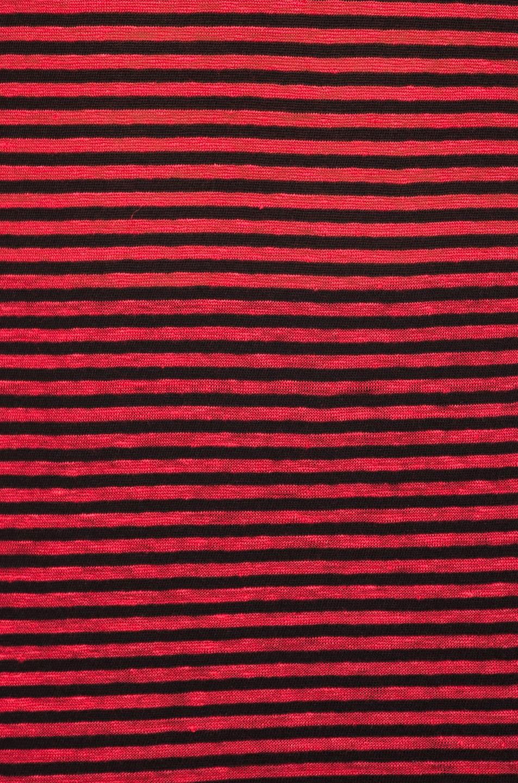Image 5 of Isabel Marant Etoile Avien Striped Linen Tank in Red