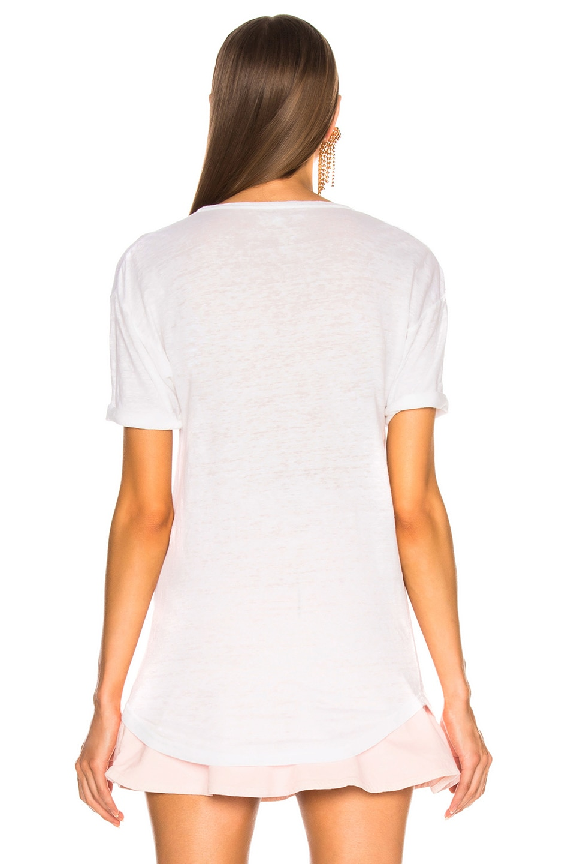 Image 4 of Isabel Marant Etoile Koldi Tee in White