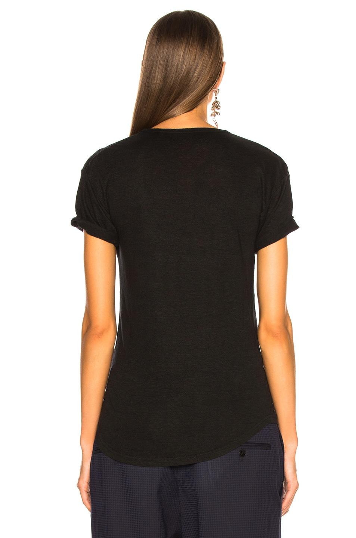 Image 4 of Isabel Marant Etoile Koldi Tee in Black