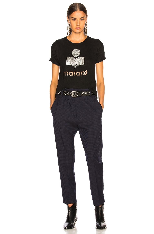 Image 5 of Isabel Marant Etoile Koldi Tee in Black