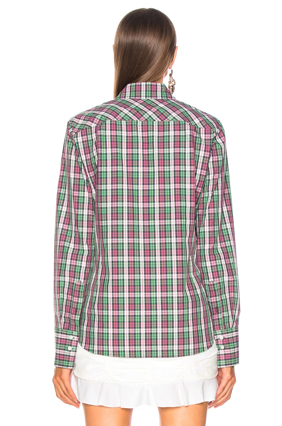 Image 4 of Isabel Marant Etoile Owill Shirt in Green