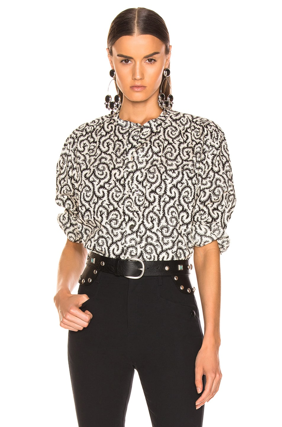 Image 1 of Isabel Marant Etoile Mexika Top in Black