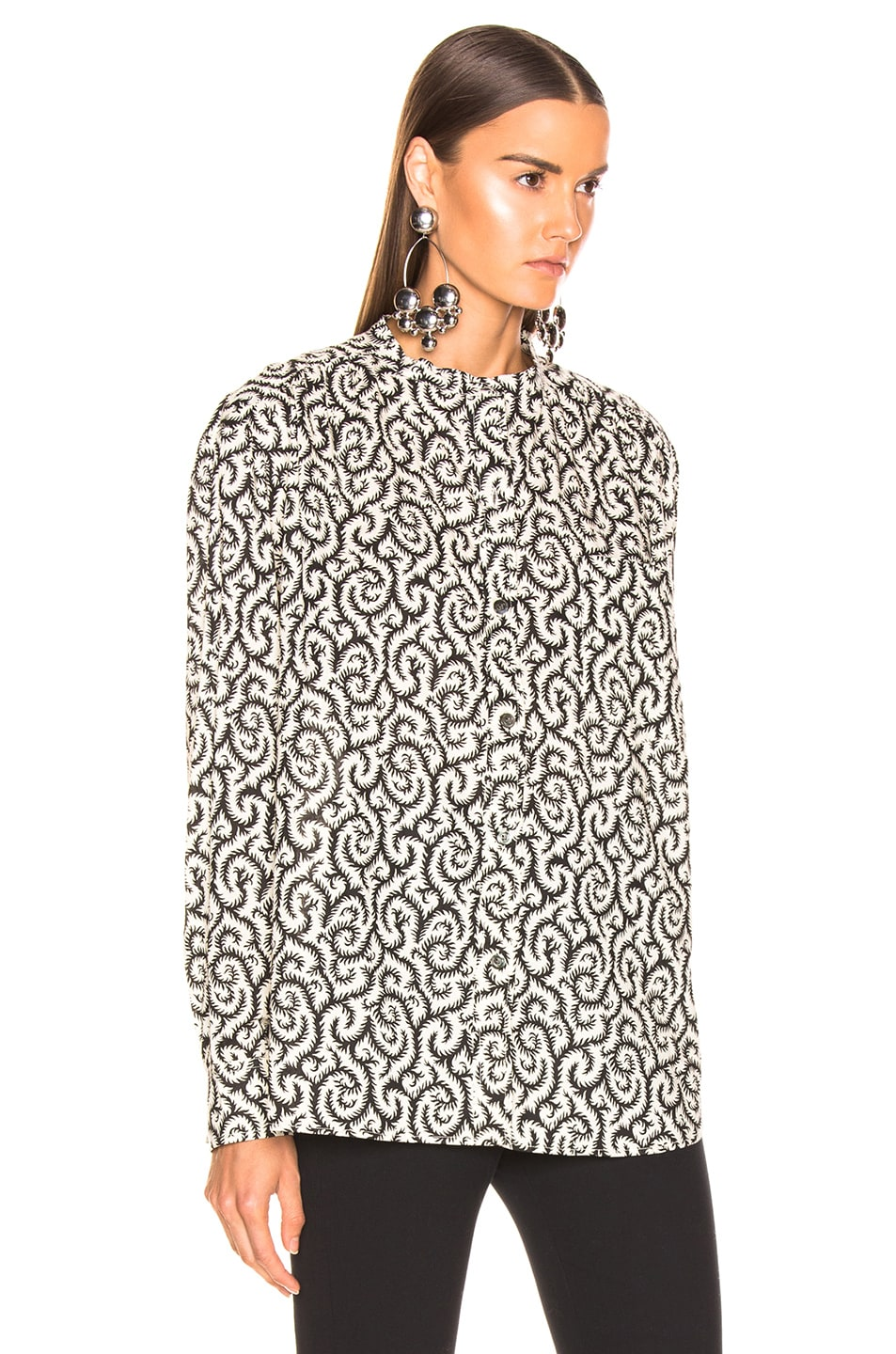 Image 2 of Isabel Marant Etoile Mexika Top in Black