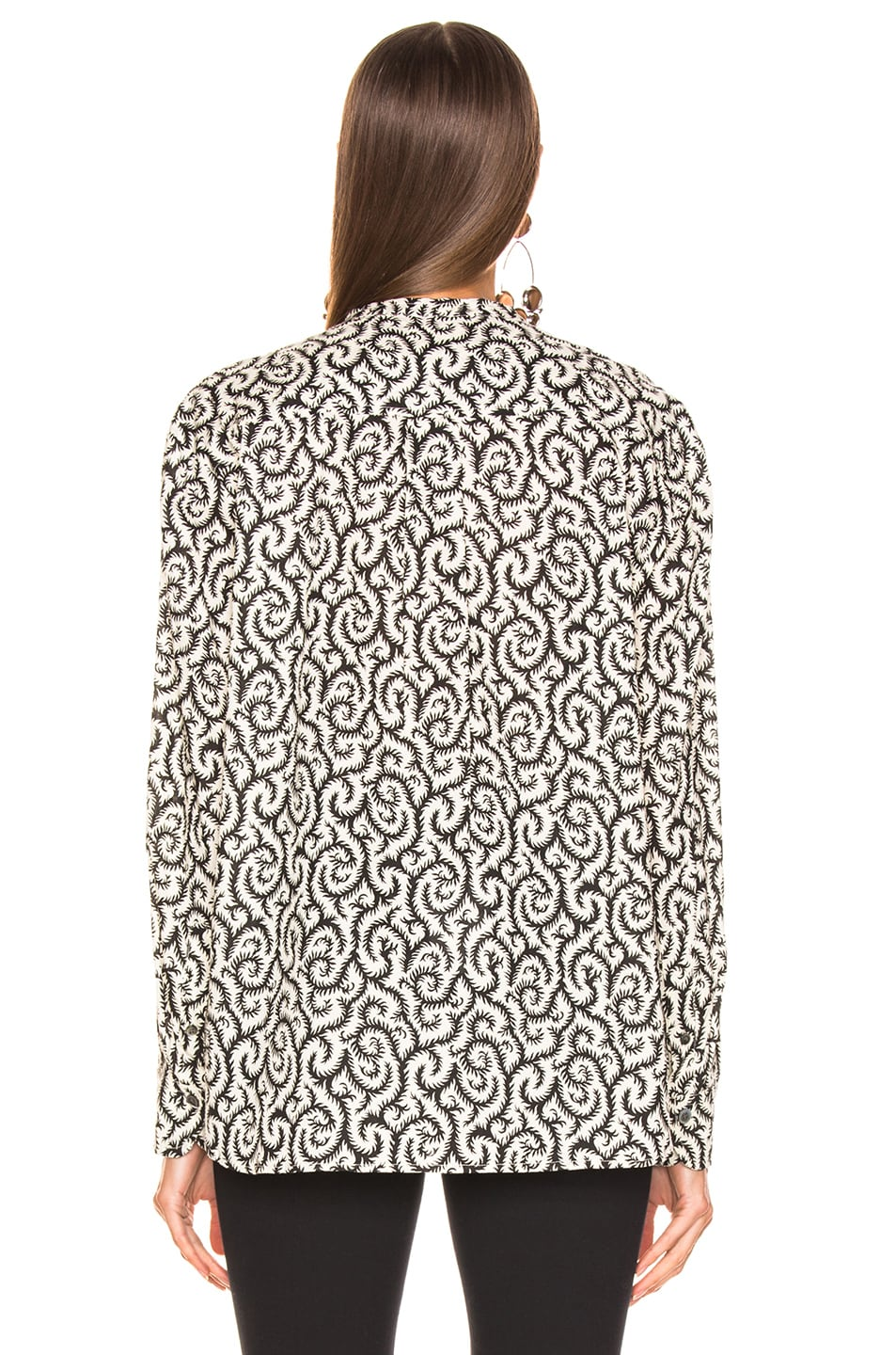 Image 3 of Isabel Marant Etoile Mexika Top in Black