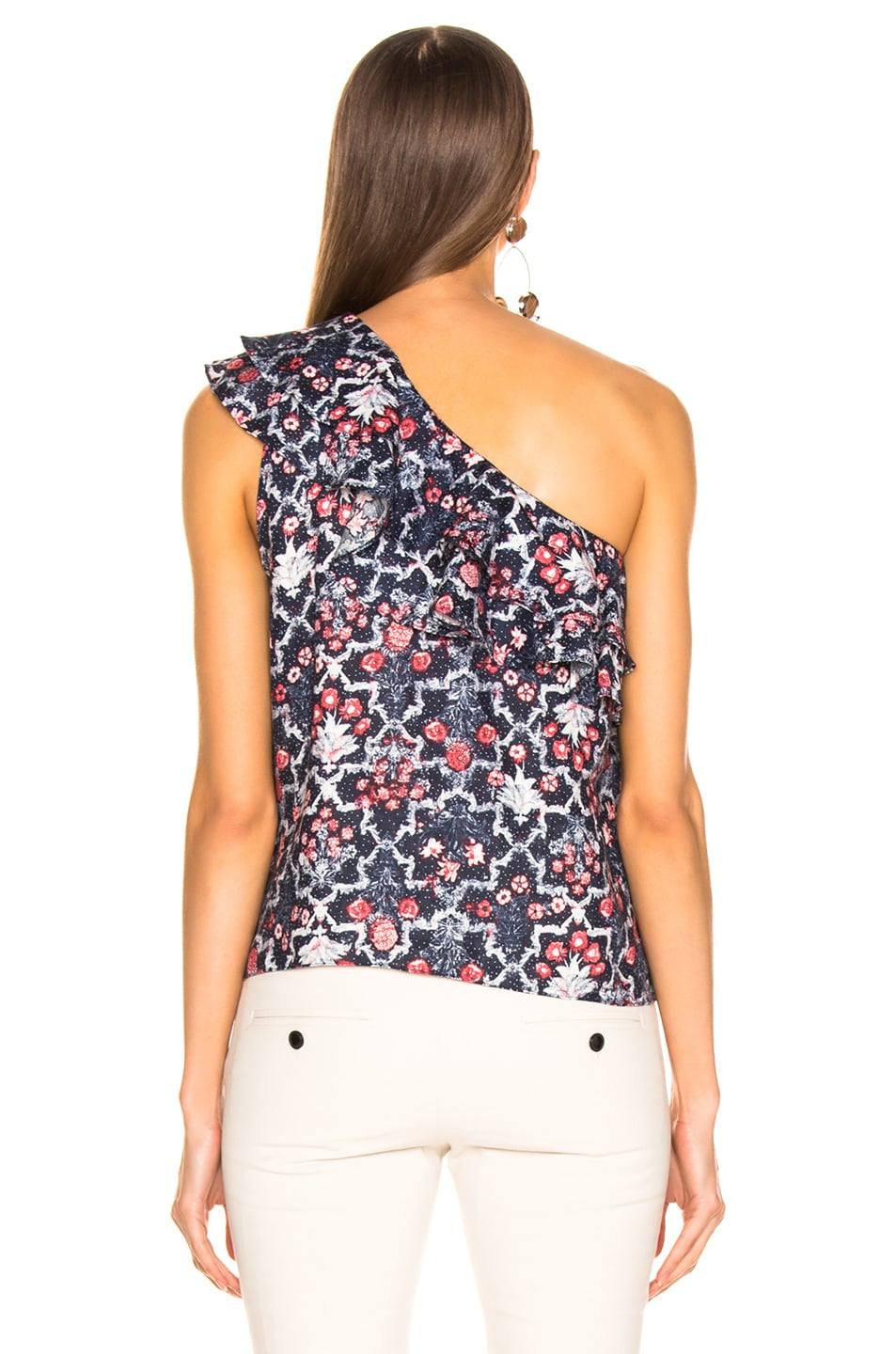 Image 4 of Isabel Marant Etoile Thomy Top in Midnight