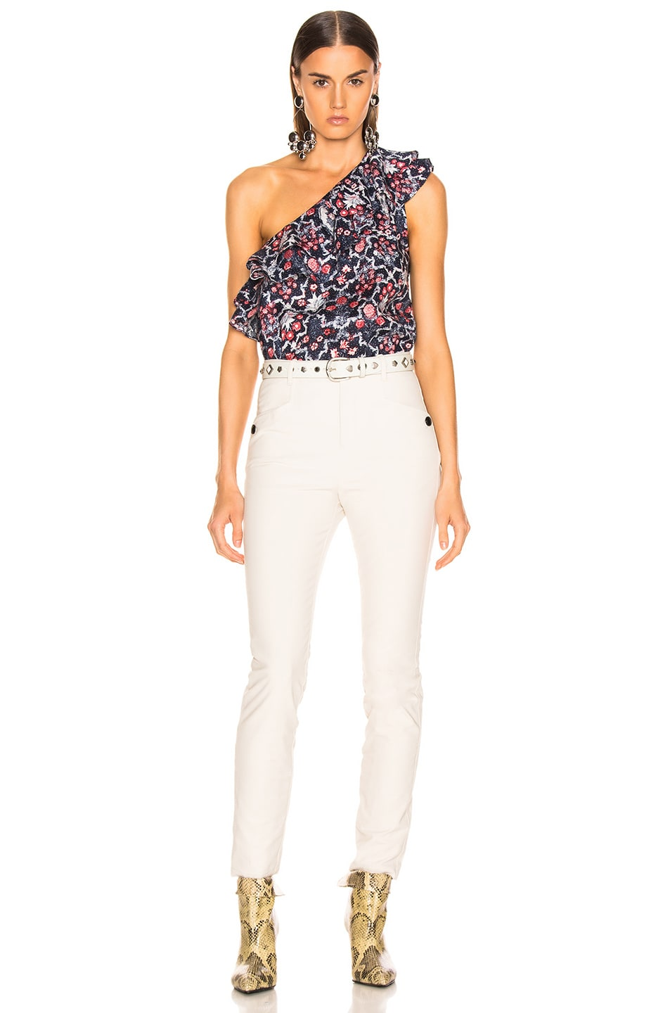 Image 5 of Isabel Marant Etoile Thomy Top in Midnight