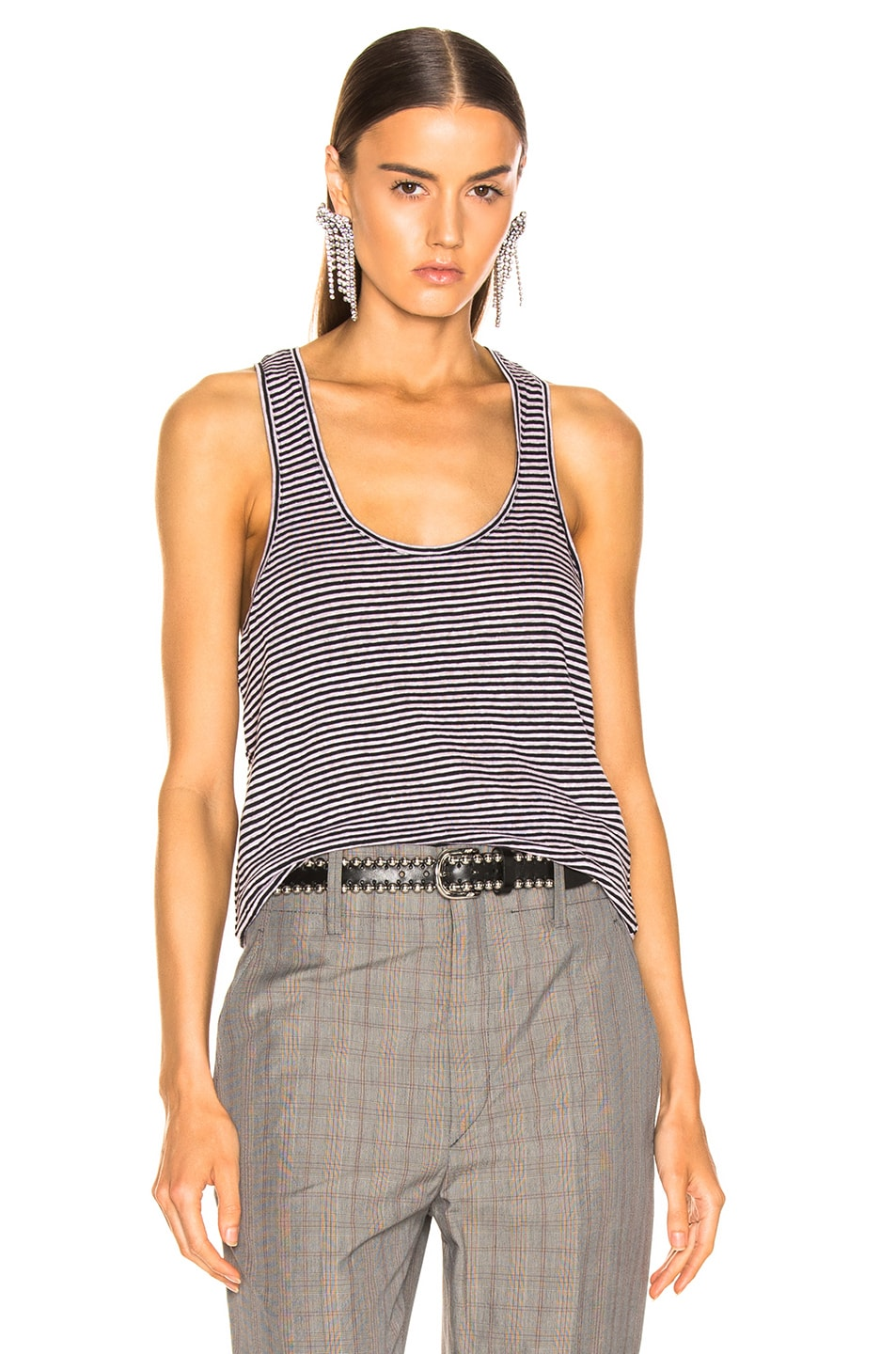 Image 1 of Isabel Marant Etoile Avien Tank Top in Lilac