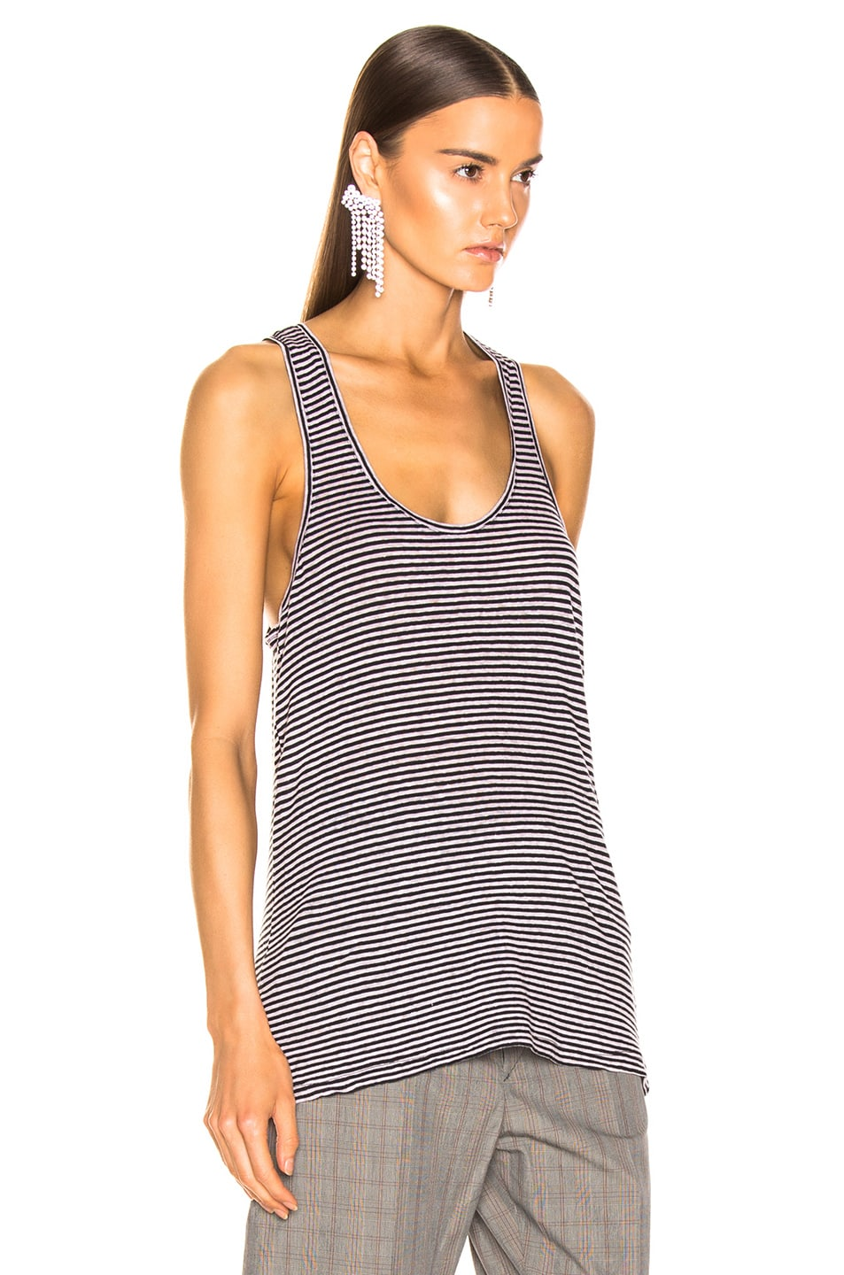 Image 2 of Isabel Marant Etoile Avien Tank Top in Lilac