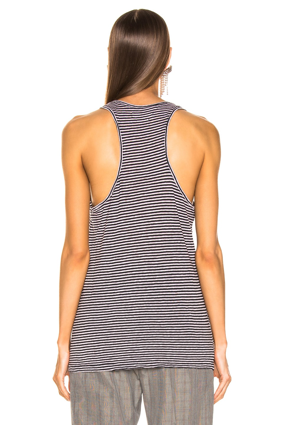 Image 3 of Isabel Marant Etoile Avien Tank Top in Lilac