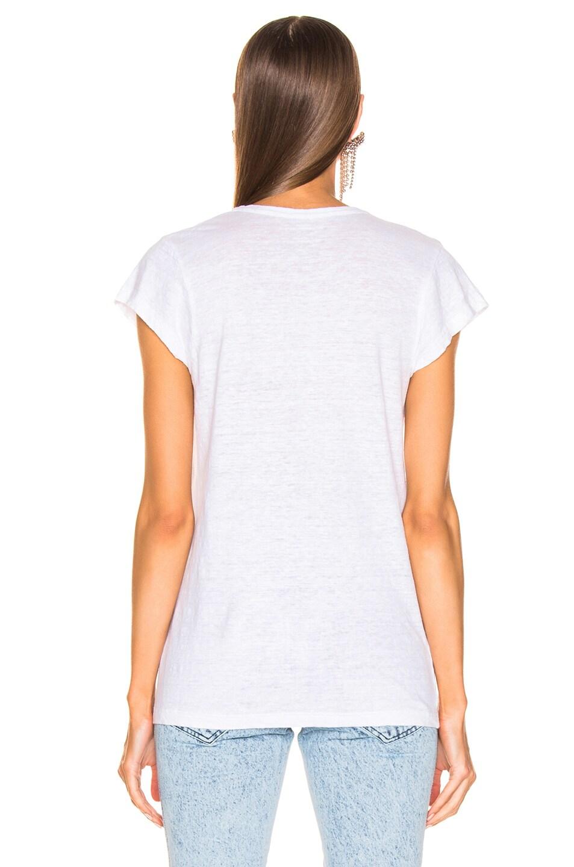 Image 3 of Isabel Marant Etoile Zankya Tee in White