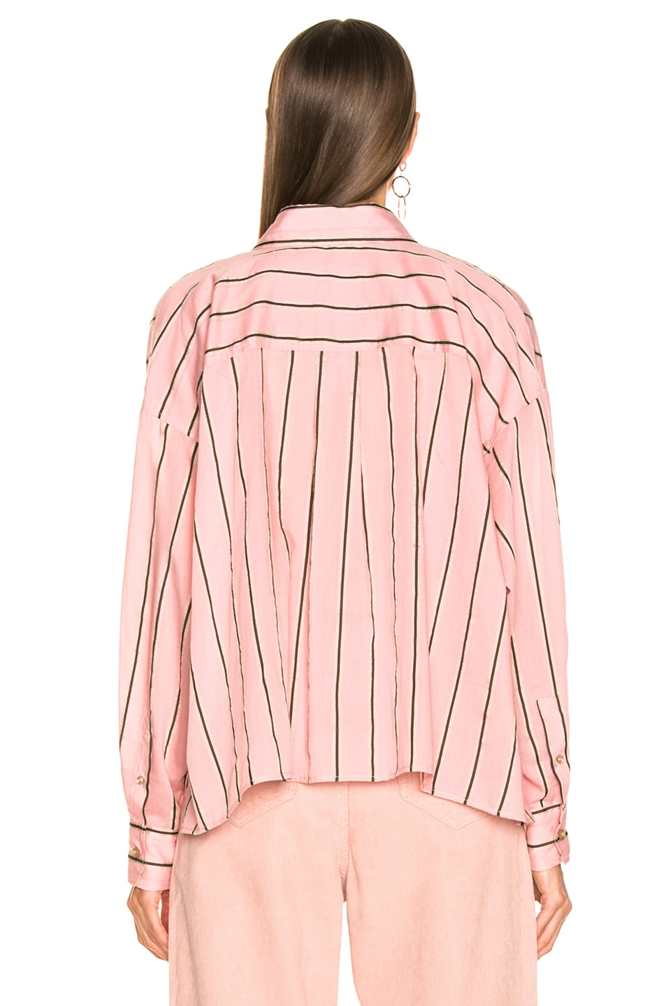 Image 3 of Isabel Marant Etoile Ycao Shirt in Light Pink