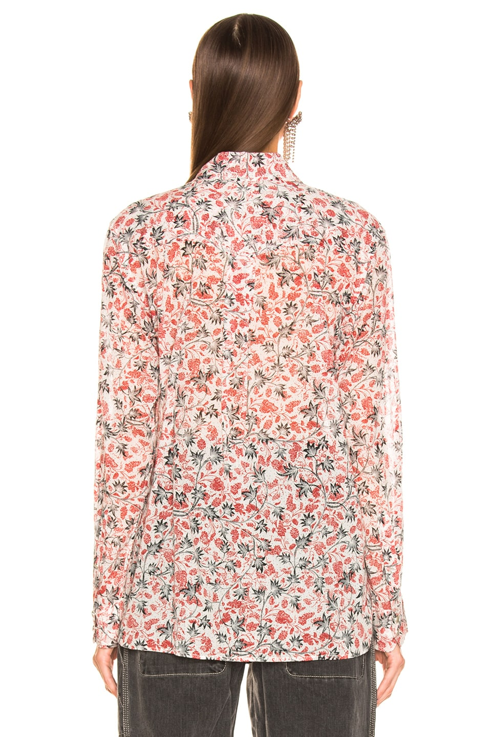 Image 3 of Isabel Marant Etoile Emelina Top in Ecru
