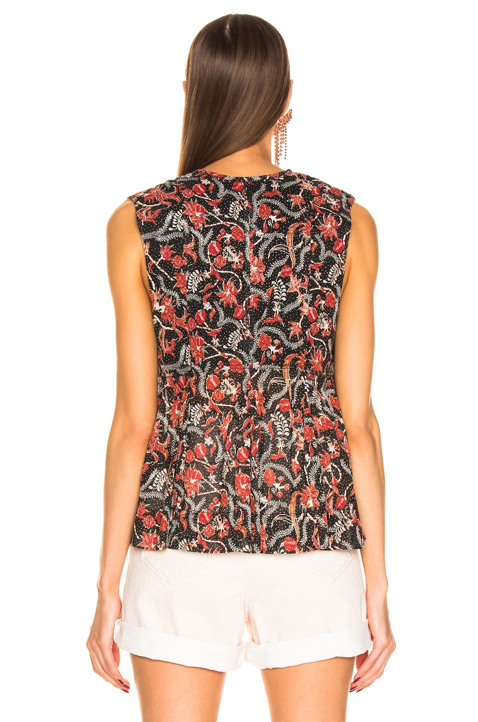 Image 3 of Isabel Marant Etoile Erney Top in Black