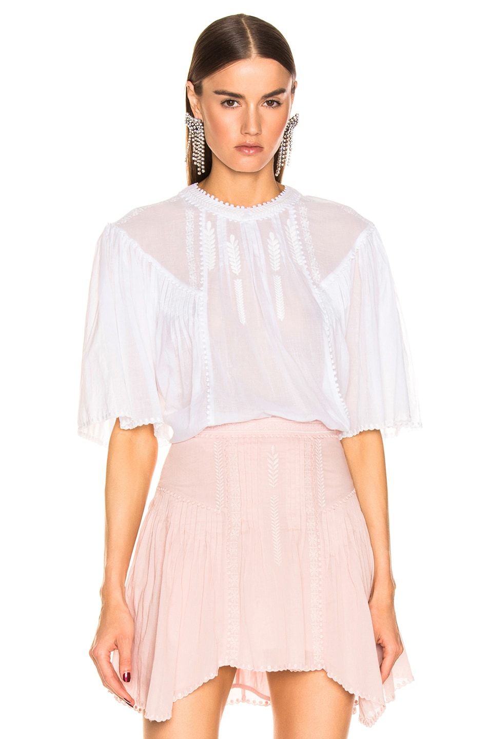 Image 1 of Isabel Marant Etoile Algar Top in White