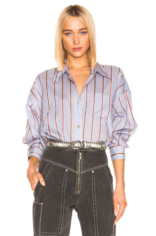 Image 1 of Isabel Marant Etoile Ycao Shirt in Light Blue