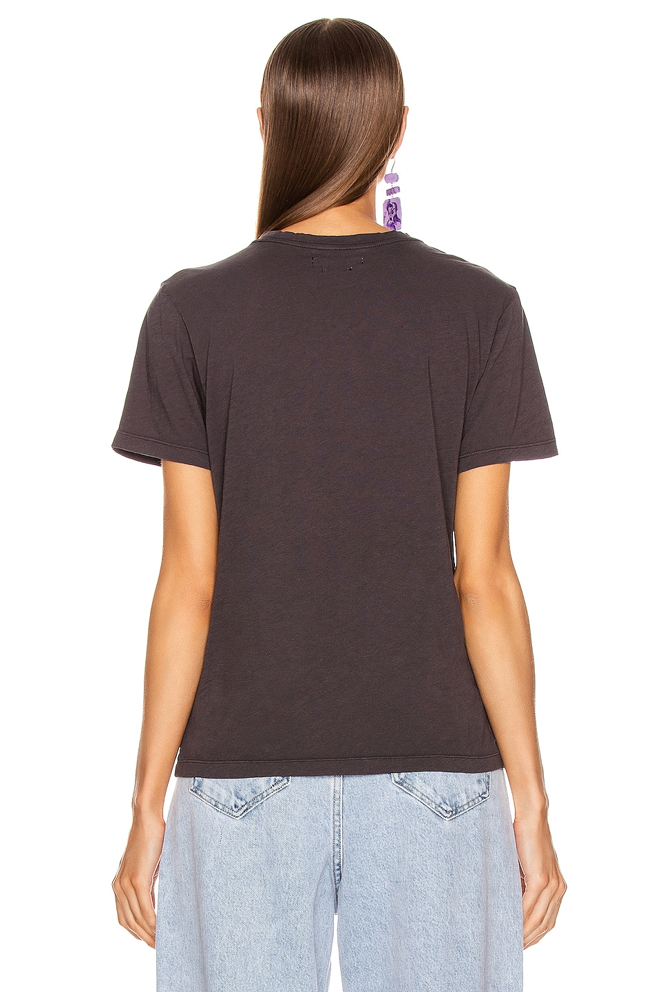 Image 4 of Isabel Marant Etoile Zewel Tee Shirt in Faded Black