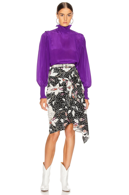 Image 4 of Isabel Marant Etoile Yoshi Top in Purple