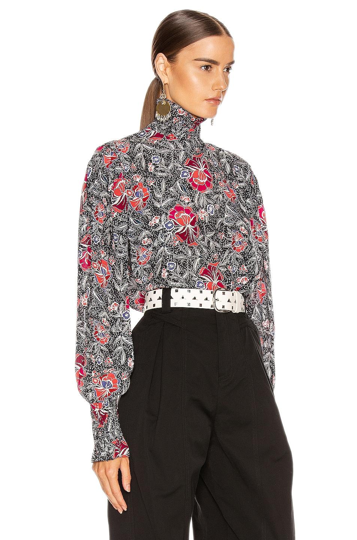 Image 2 of Isabel Marant Etoile Yoshi Top in Black