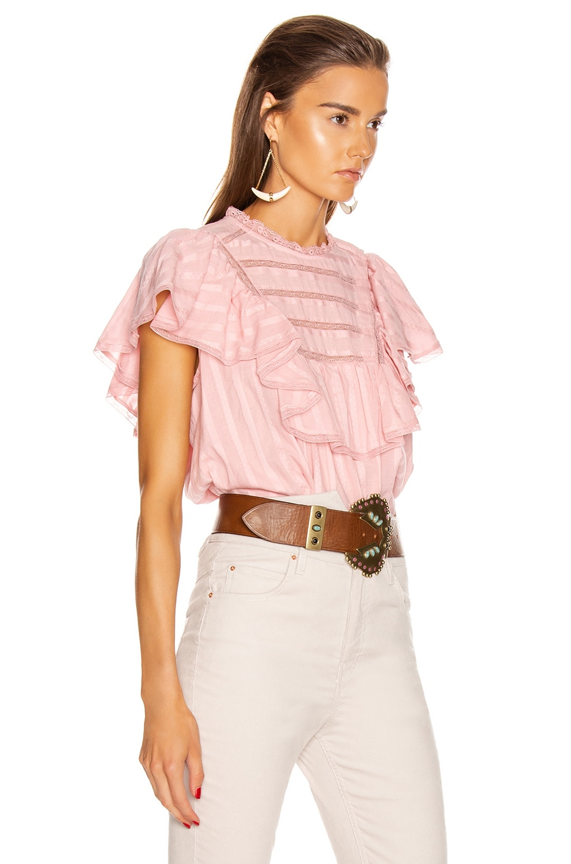 Image 2 of Isabel Marant Etoile Pleyel Top in Pink
