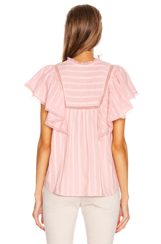 Image 3 of Isabel Marant Etoile Pleyel Top in Pink