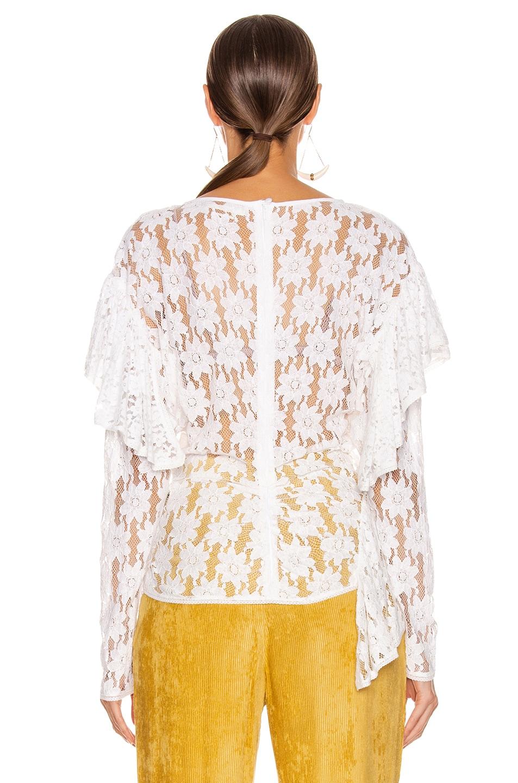 Image 4 of Isabel Marant Etoile Vinny Top in White