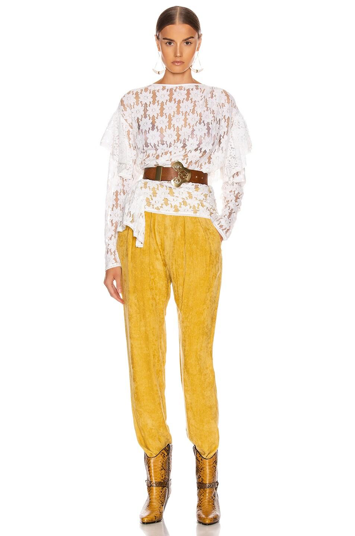 Image 5 of Isabel Marant Etoile Vinny Top in White