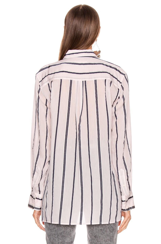 Image 3 of Isabel Marant Etoile Yvana Shirt in Light Pink