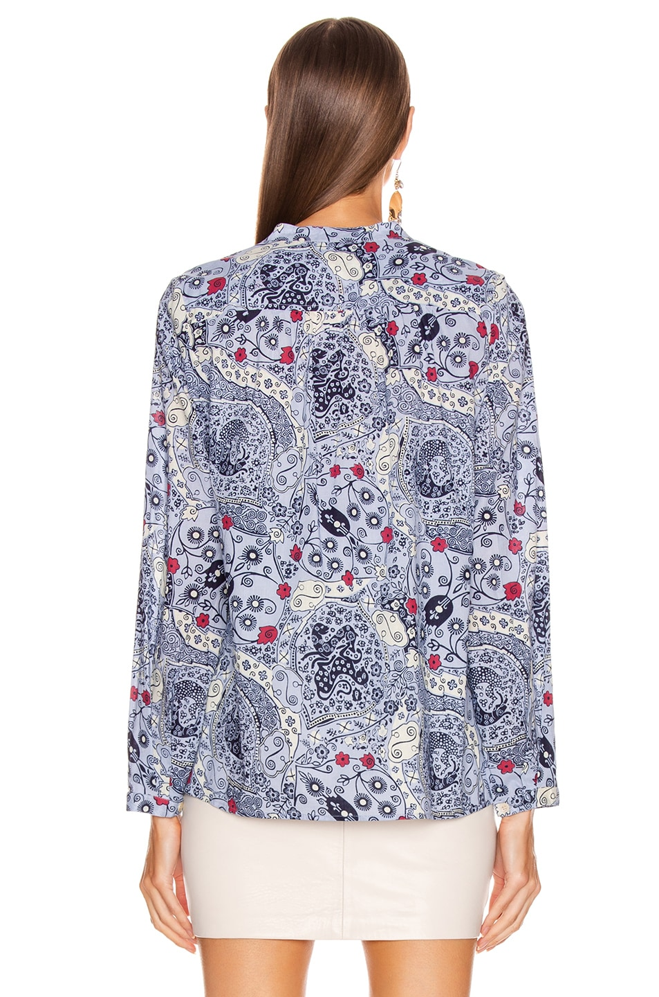 Image 3 of Isabel Marant Etoile Maria Shirt in Blue