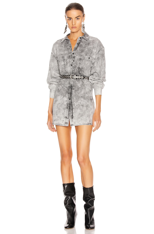 Image 1 of Isabel Marant Etoile Lynton Shirt in Faded Black