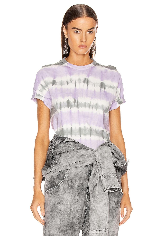 Image 1 of Isabel Marant Etoile Dena Tee Shirt in Lilac