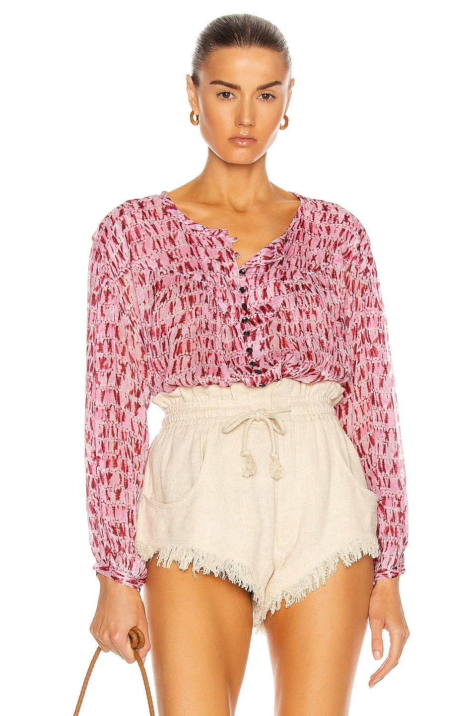 Image 1 of Isabel Marant Etoile Sorionea Top in Red